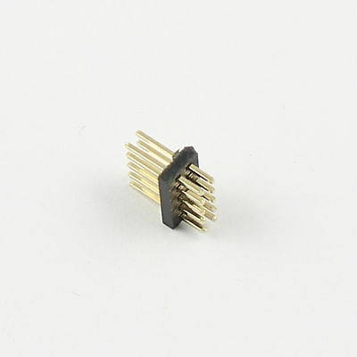 20 Pcs Gold Plated 1.27mm Pitch Male 2x5 Pin 10 Pin Straight Pin Header Strip K8