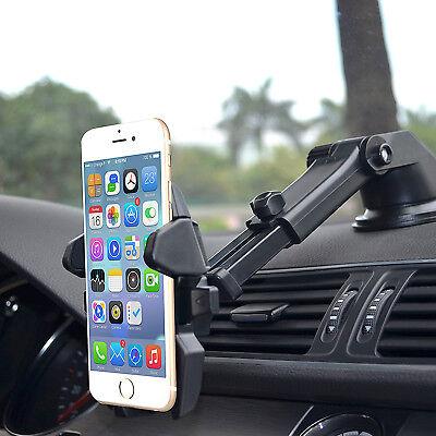 Universal 360° Windshield Mount Car Holder Cradle For GPS Mobile Smart Phone 3