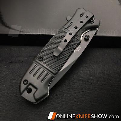 """7.75"""" TAC-FORCE SPRING ASSISTED TACTICAL FOLDING POCKET KNIFE Blade Open Assist 3"""