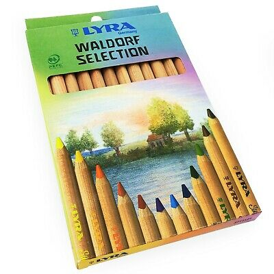 Lyra Waldorf Selection Triangular Colouring Pencils - Assorted Colours - 12 Pack 3