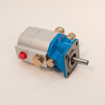 11 GPM Hydraulic Log Splitter Pump, 2 Stage Hi Lo Gear Pump, Logsplitter, NEW 8