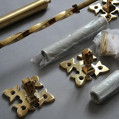 Victorian Inspired Brass Lichfield Bell Pull 10