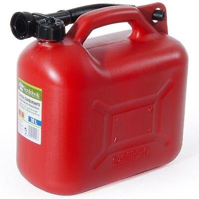 Tanica Taniche Omologata Plastica Carburante Benzina Gasolio 5 - 10 - 20 Litri 3