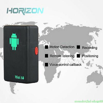 Mini A8 GPS Tracker Locator Car Kid Global Tracking Device Anti-theft Outdoor 10