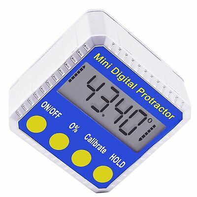 Digital BEVEL BOX Inclinometer Angle Gauge Meter Protractor 360° with Magnets 7