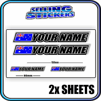 COUNTRY TREK DK EASTERN DECAL PERSONALIZE YOUR BIKE S4 BMX STICKER CUSTOM NAME