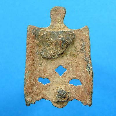 Medieval Xvi Century End Dagger Knife Seath Helmet Shaped 16Th 3