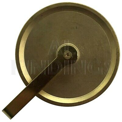 GRANDFATHER GUT PULLEY / BRASS LONGCASE  - 38mm -NEW CLOCK PARTS 3