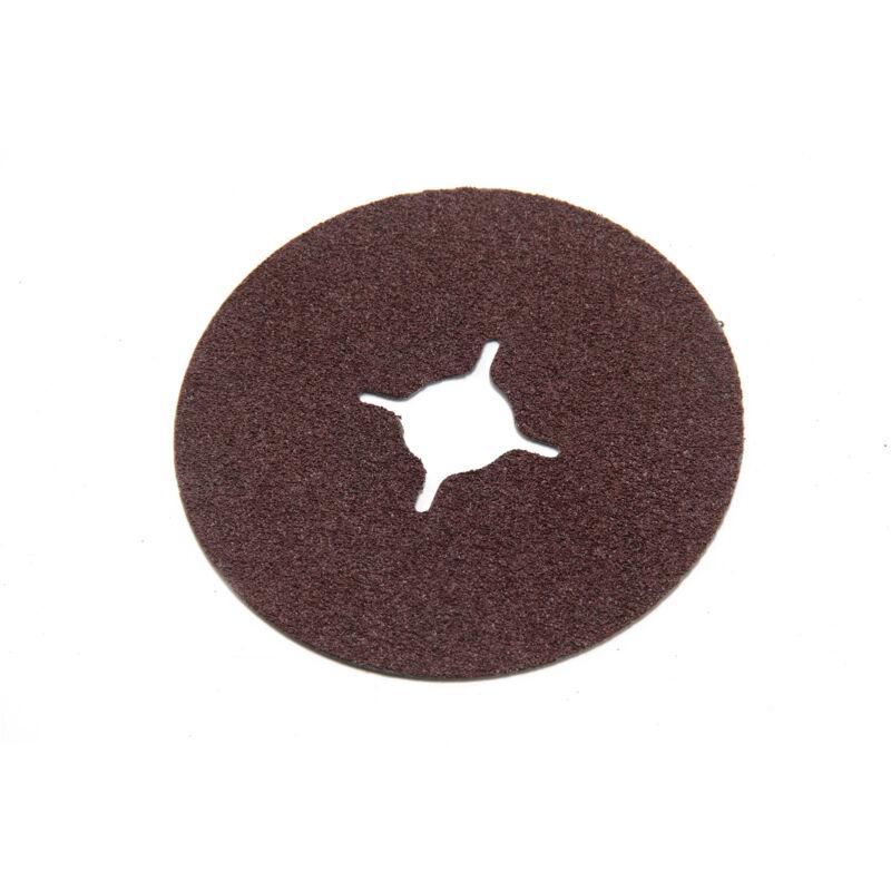 115mm Rubber Backing Pad for Angle Grinder+30 Fibre Sanding Discs Grinder Discs