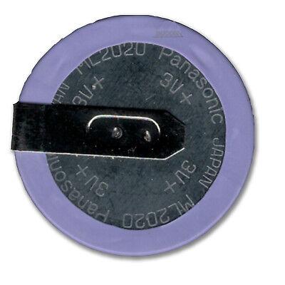 Knopfzellen Akku VL2020 ML2020 Lithium Battery Panasonic 45 mAh 3V