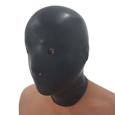 Anatomische Latex Maske aus Rubber, Einheitsgröße 4