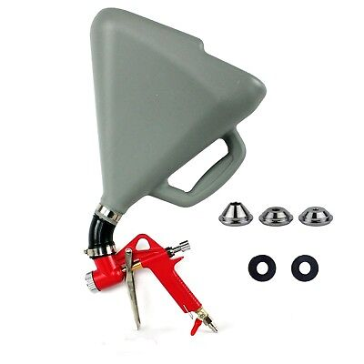 LARGEST 7.5L Hopper Spray Gun Joint Paint Wall  Plaster Texture Drywall 3 Nozzle