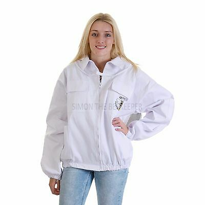 Beekeeping bee jacket with Round Veil - Kids Small 2