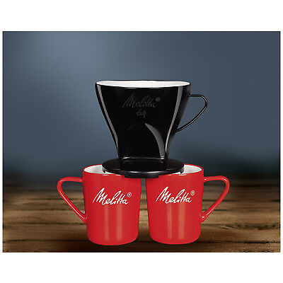 MELITTA Genuine Type 102 Pour Over Coffee Filter Cone Pack of 2