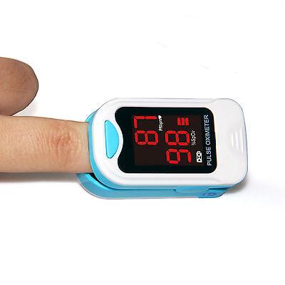 US seller Finger Pulse Oximeter Blood Oxygen Sensor O2 SpO2 Monitor Heart Rate 3