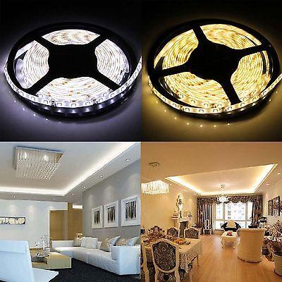 5M 10M 15M 20M 12V 3528 5050 5630 LED Flexible Strip Light Warm White Tape 2