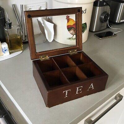 Riverdale. Caja De Te De Madera. Tea Box 3