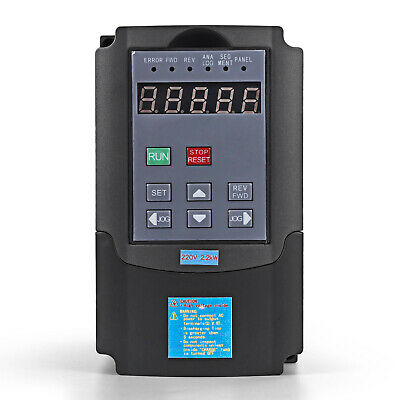Top 220V 2.2Kw 3Hp Variable Frequency Drive Vfd Inverter Free Postage 3