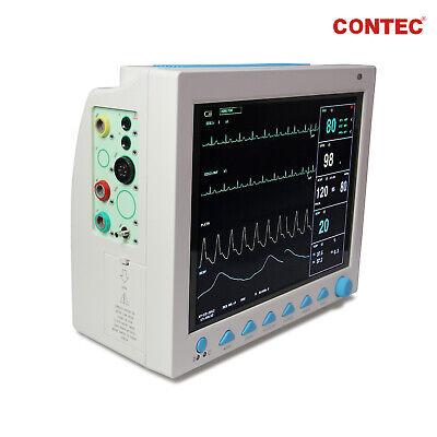 12 1 INCH CARDIAC Monitor Vital Signs ICU Patient Monitor Machine 7  Parameters