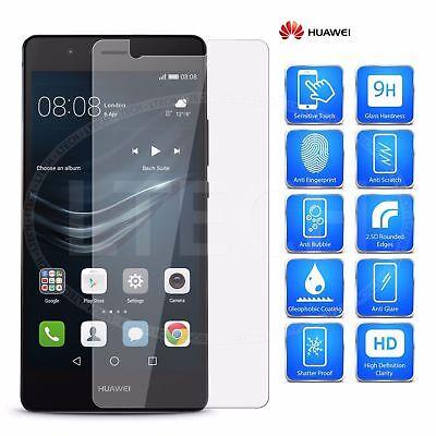 Pellicola Vetro Temperato per Huawei P20/P10/P9/P8/Mate 20 10 Pro/Plus/Lite/2017 9