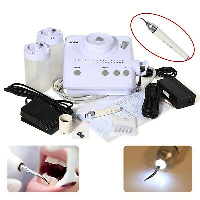 Dental Ultrasonic Piezo Scaler LED Light Fit EMS Woodpecker Endo Perio U&^ 3