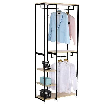 7 Modell Kleiderstange stabil wäscheständer Kleiderständer Garderobenständer 6