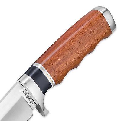 "11"" RidgeRunner Wood Hunting Skinning Survival Fixed Blade Full Tang Knife Bowie 3"