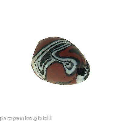 Early Islamic Glass Bead   (0430) 7