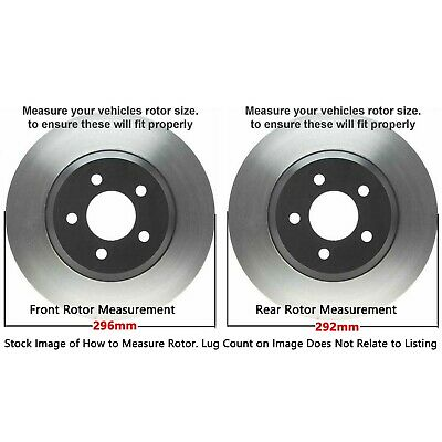 FRONT FITS ROGUE 2008-2012 BLACK HART DRILLED SLOTTED BRAKE ROTORS