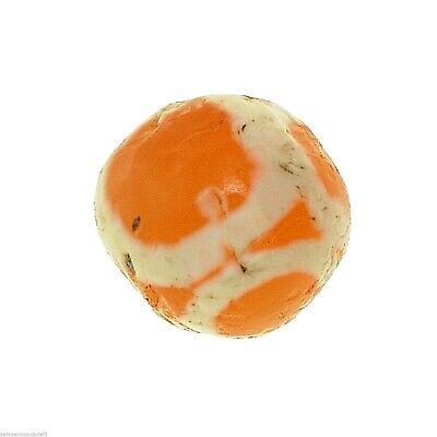 (0625) Yellow Carnelian Eye Bead, Bleached, UNFINISHED, China - Tibet.  古董蚀刻玛瑙珠 5