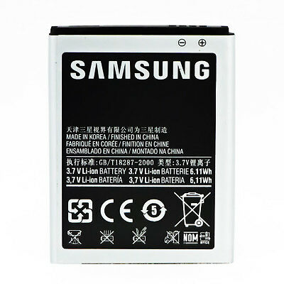 New OEM Battery Replacement for Genuine Original Samsung Galaxy S2 S3 S4 S5 AU 3