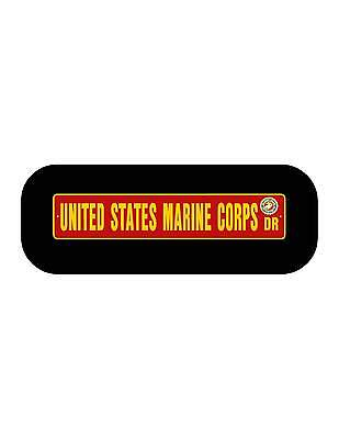 "US ARMY Street Sign 6/""x30/"" Military decal nascar racing"