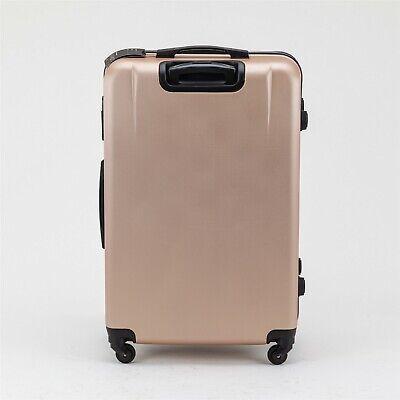 24 inch 65L Medium size Luggage Trolley Travel Bag 4 Wheels TSA lock hard case 4