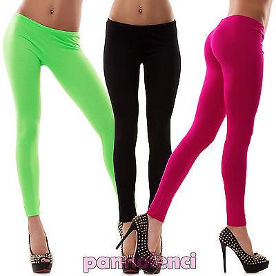 Leggings leggin pantacalza pantaloni fitness pants sport jersey donna CC-142 2