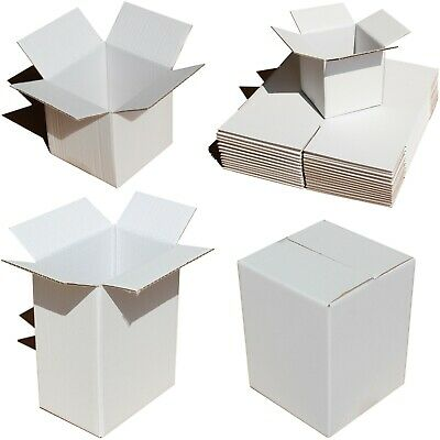 15 Sizes White Or Brown In/Out Shipping Boxes Gift Packaging Mug Cup Plate Bowl 2