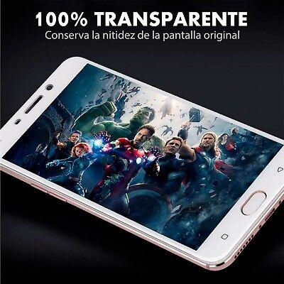 Protector Pantalla Huawei P8 Lite 2017 Cristal Templado 3D Dureza 9H 6