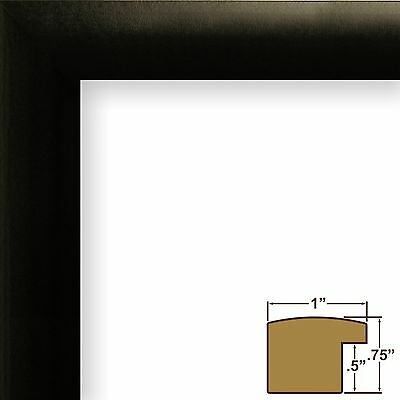 CRAIG FRAMES 12X12 Black frame, White Collage Mat with Openings for ...
