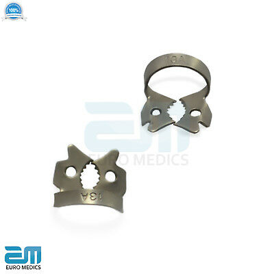 Dental Rubber Dam Clamps Molars Tooth Isolation Dentist Endodontic Instrument CE 3