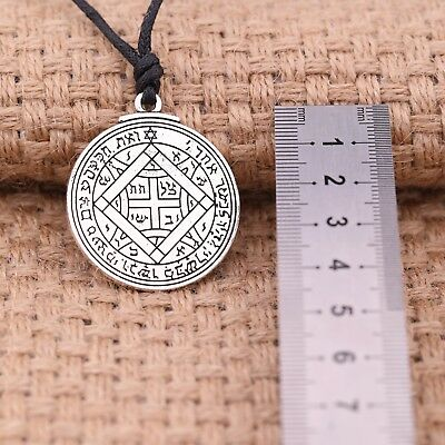 Ancient Amulet Key of Solomon Ultimate Love Pendant Gift Necklace for Women Men 9