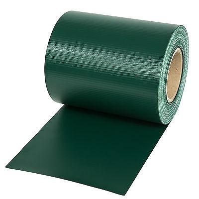 pvc sichtschutz streifen sichtschutzfolie doppelstabmatten schutz zaun 35m gr n eur 18 89. Black Bedroom Furniture Sets. Home Design Ideas