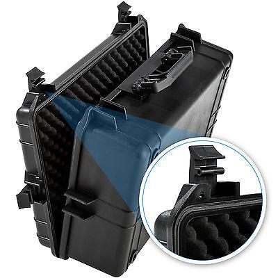 Valise photo caméra transport accessoire protection armes photographie noir 7