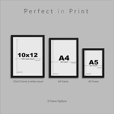 Geometric Wall Art Framed Abstract Prints Modern Picture Home Wall Décor Artwork 2