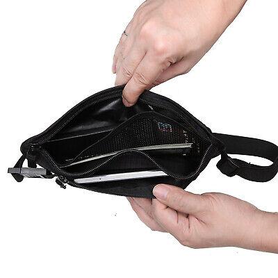 Slim Design Bumbag RFID Running Belt Water-proof Adjustable Waist Bag Travelling 9