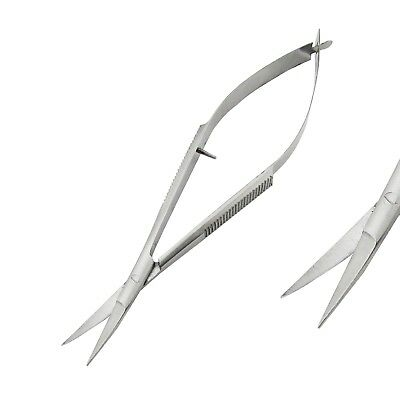 Dental Surgical Noyes Spring Scissor Curved Laboratory Ophthalmic Instruments CE 2