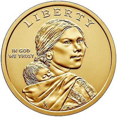 2019 PD  Pos A&B 4 Coins $1 Native American- Mint Bags/rolls -Coins in Hand
