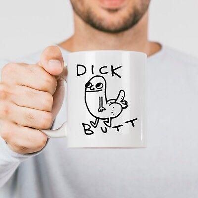 11oz /& 15oz Coffee Mug Dick Butt Secret Humor DickButt Funny Coffee Mug