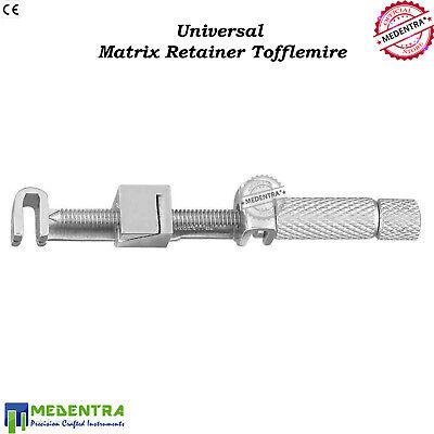 Tofflemire-Retainer Matrix Band Placement Universal-Retainer Restorations Set-5 3