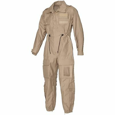 Tank Suit Genuine British Military AFV FR Beige Coverall Ground Crew NEW