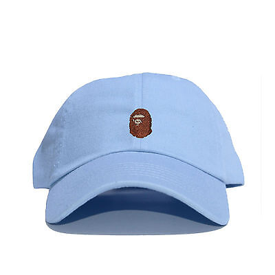 526290a3b3e ... Embroidered Dad Hat (BATHING APE HEAD supreme AAPE unsturctured ALL  COLOR 8