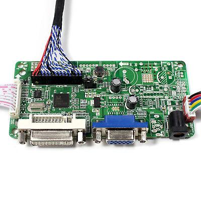 DVI VGA LCD driver board work for 19inch 1280x1024 LM190E02 M190EG03 LCD panel 4